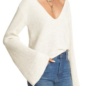 Free People Starman Rib Knit Pullover
